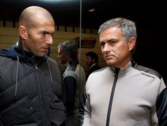 Zinedine Zidane, Jose Mourinho