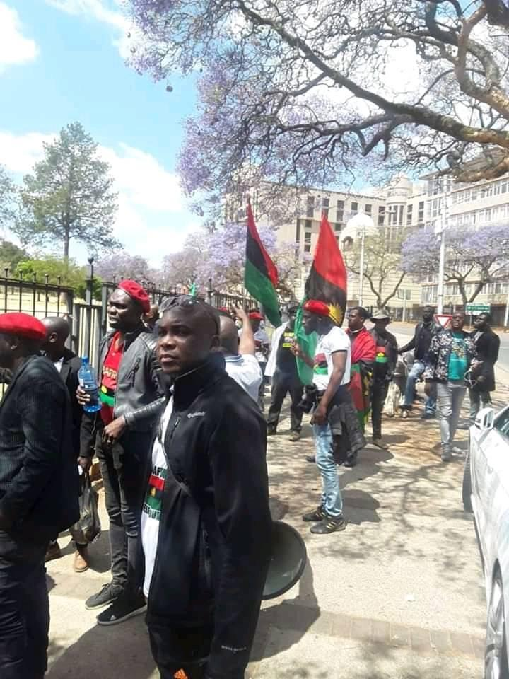 IPOB member shot by police in South Africa