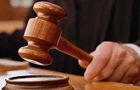 File photo: court gavel