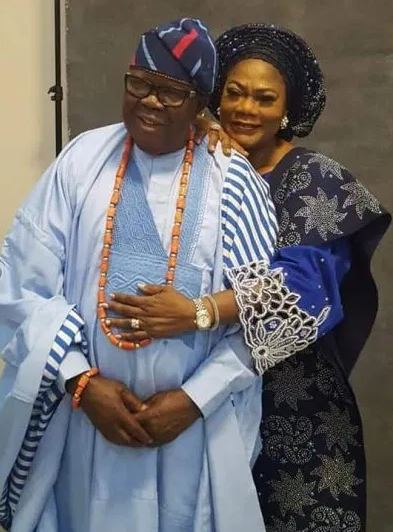 Grace Titi Laoye-Tomori and Prince Michael Tunde Ponle