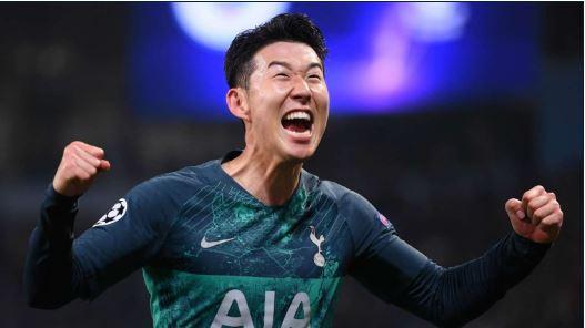 Tottenham star, Heung-min Son