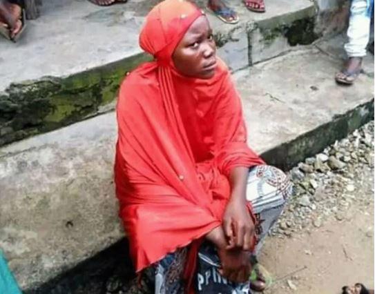 Hausa lady