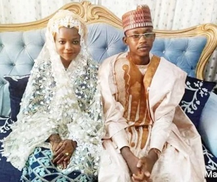 Zamfara State Governor's daughter and her groom
