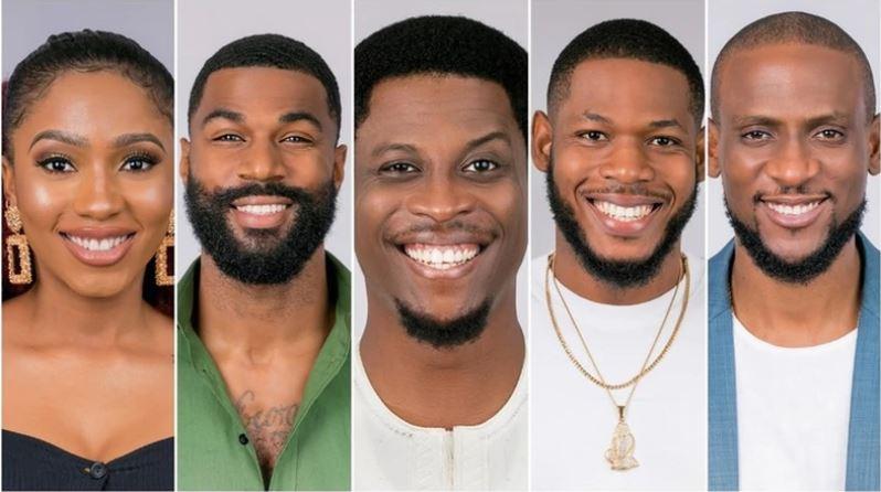 Mercy, Mike, Seyi. Frodd, Omashola