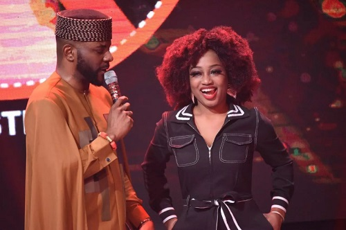 Esther answers questions from Ebuka on her eviction day