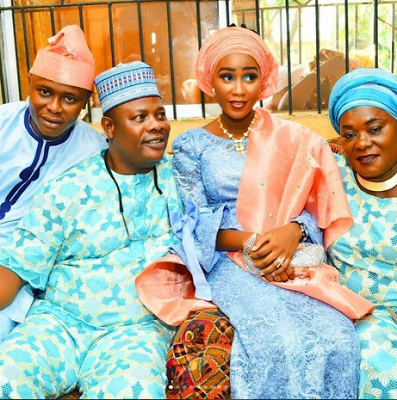 Adenike Quadri and her family