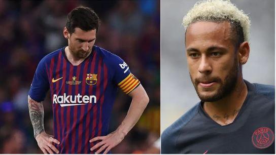 Leo Messi, Neymar Jr