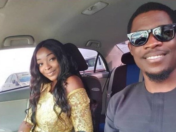 Seyi and girlfriend, Adeshola