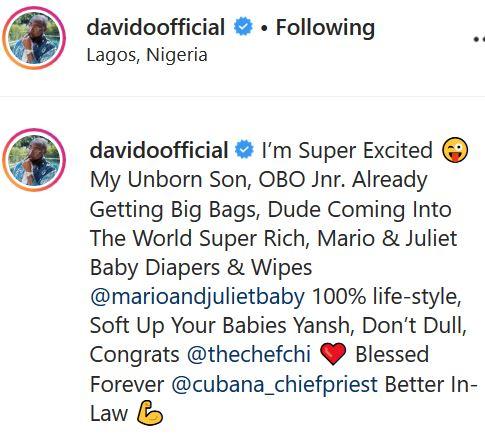 Davido's son