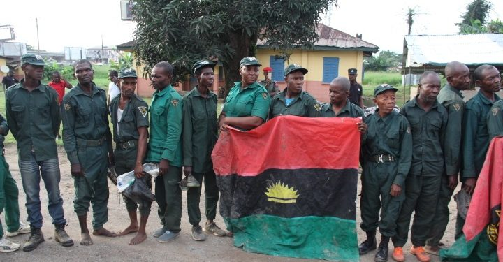 IPOB members arrested by the police