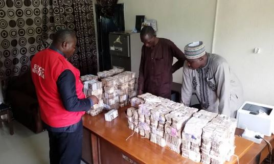 EFCC recovers money INEC