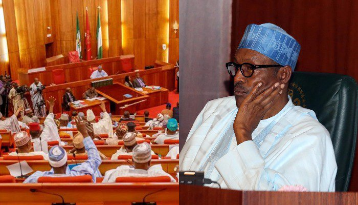 President Buhari presented the 2020 budget to the National Assembly