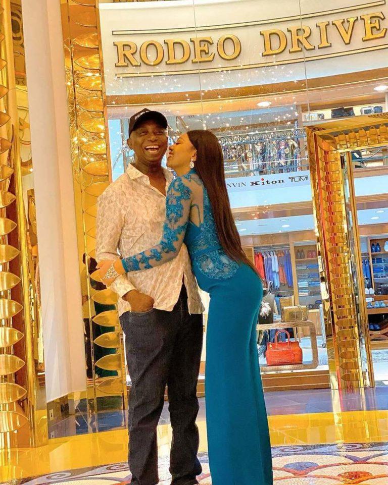 Ned Nwoko and Regina Daniels