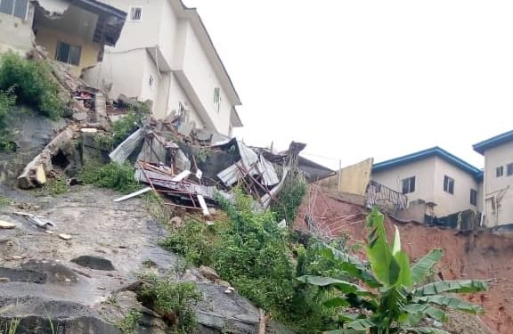 Magodo building collapse