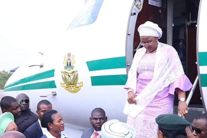 Aisha Buhari returns