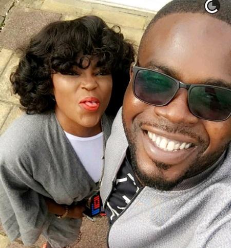 JJCSkillz and wife, Funke Akindele