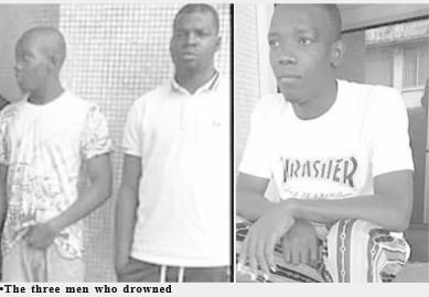 men drown while evading police