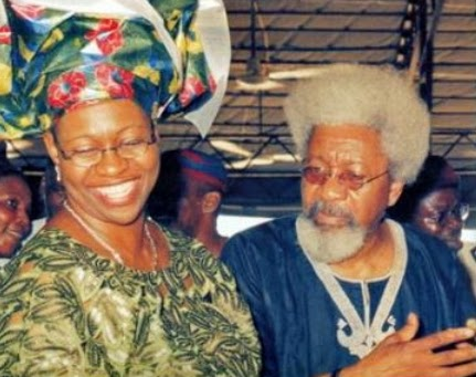 Moremi Soyinka-Onijala and her father Wole Soyinka