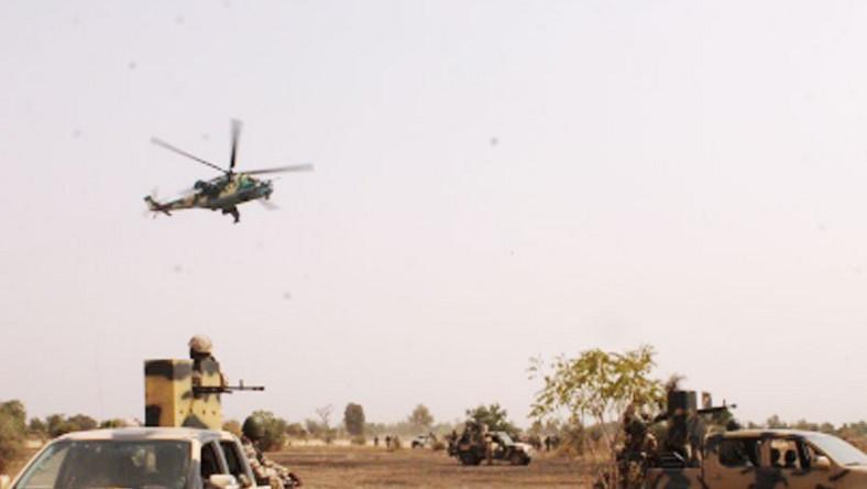 NAF bombs Boko Haram