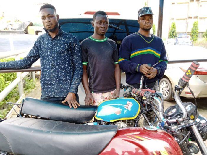 Okada robbers nabbed