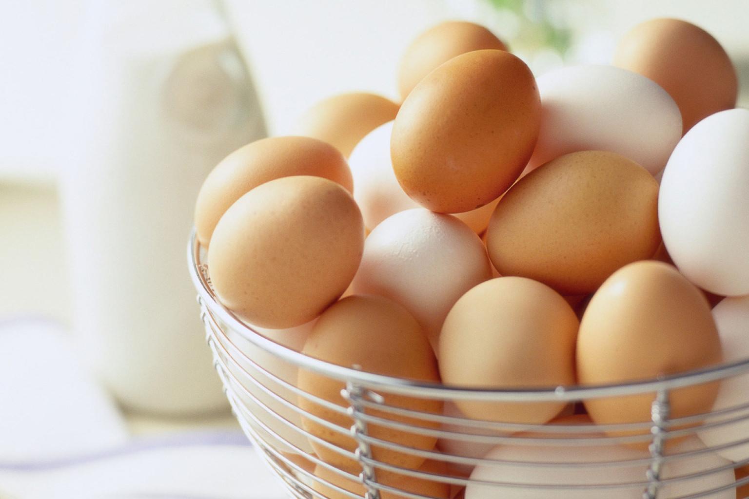 File photo: Eggs