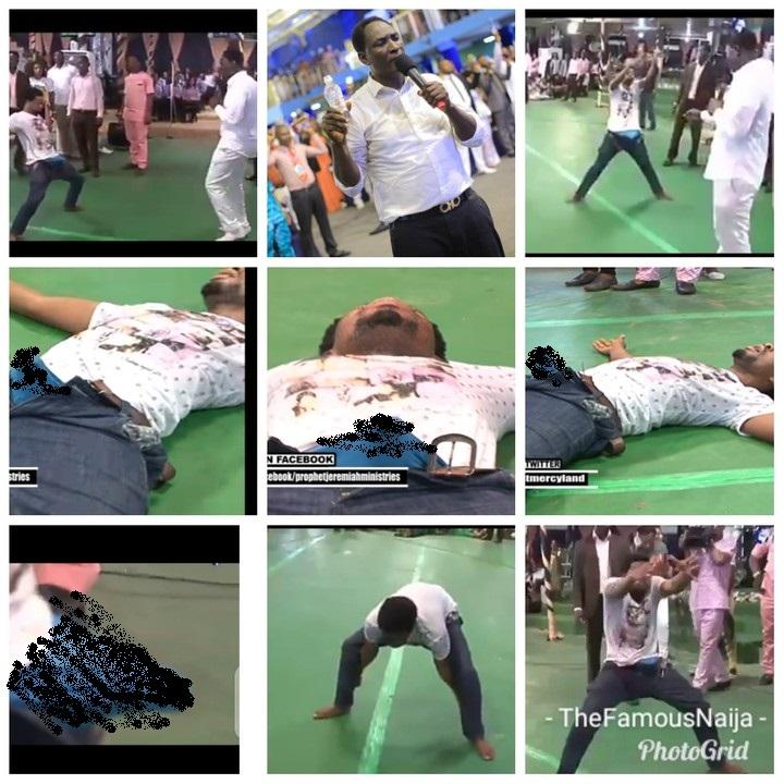 Pastor, Prophet Jeremiah Fufeyin joystick miracle