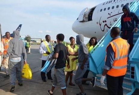 File photo: Libya returnees