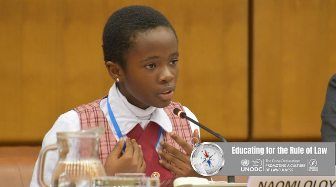 Naomi Oloyede at UN conference