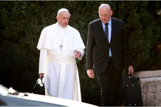 Domenico Giani,, Pope Francis