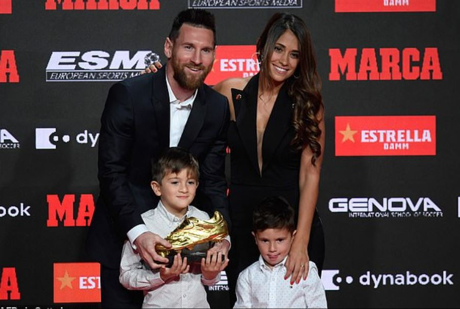 Lionel Messi Golden Shoe