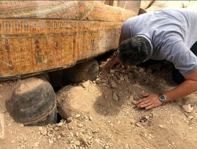 Sealed coffins found in Egypt