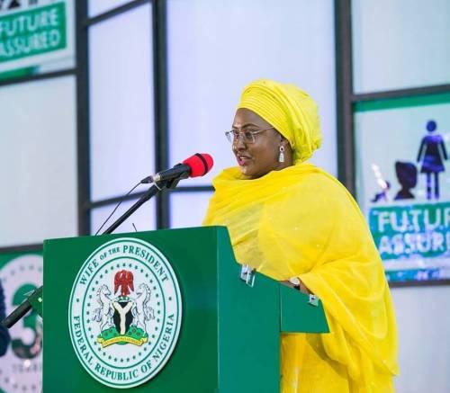 Mrs. Aisha Buhari,