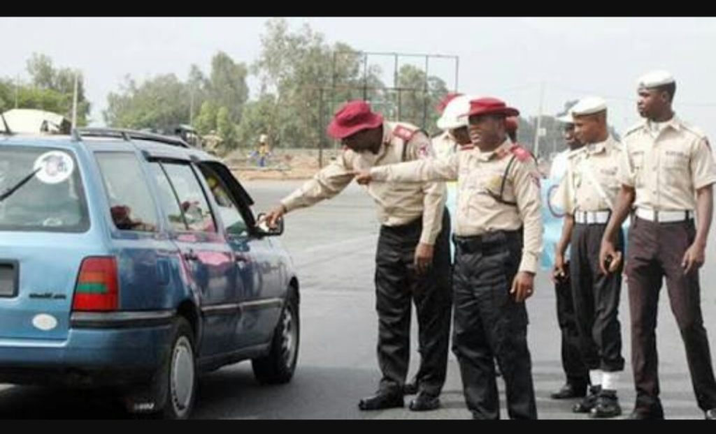 Cars impounded by FRSC
