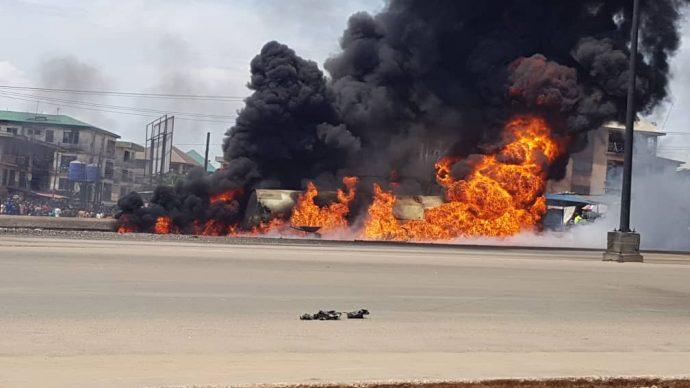 Onitsha Tanker Explosion Not Ordinary, It's A Terrorist Attack - IPOB Declares