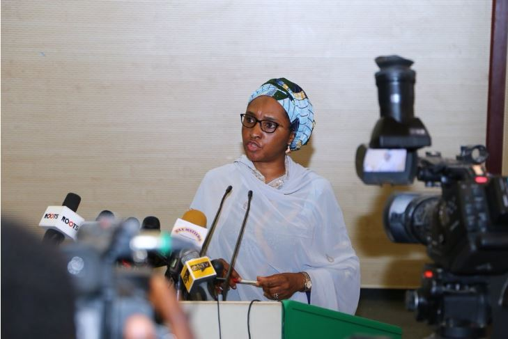 Zainab Ahmed, the minister of finance,