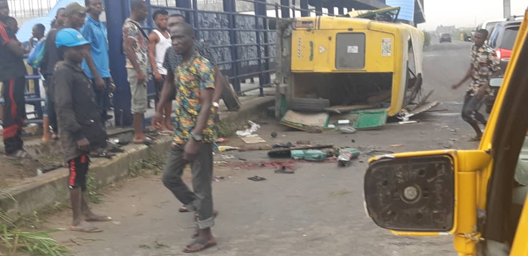 bus accident in Lagos