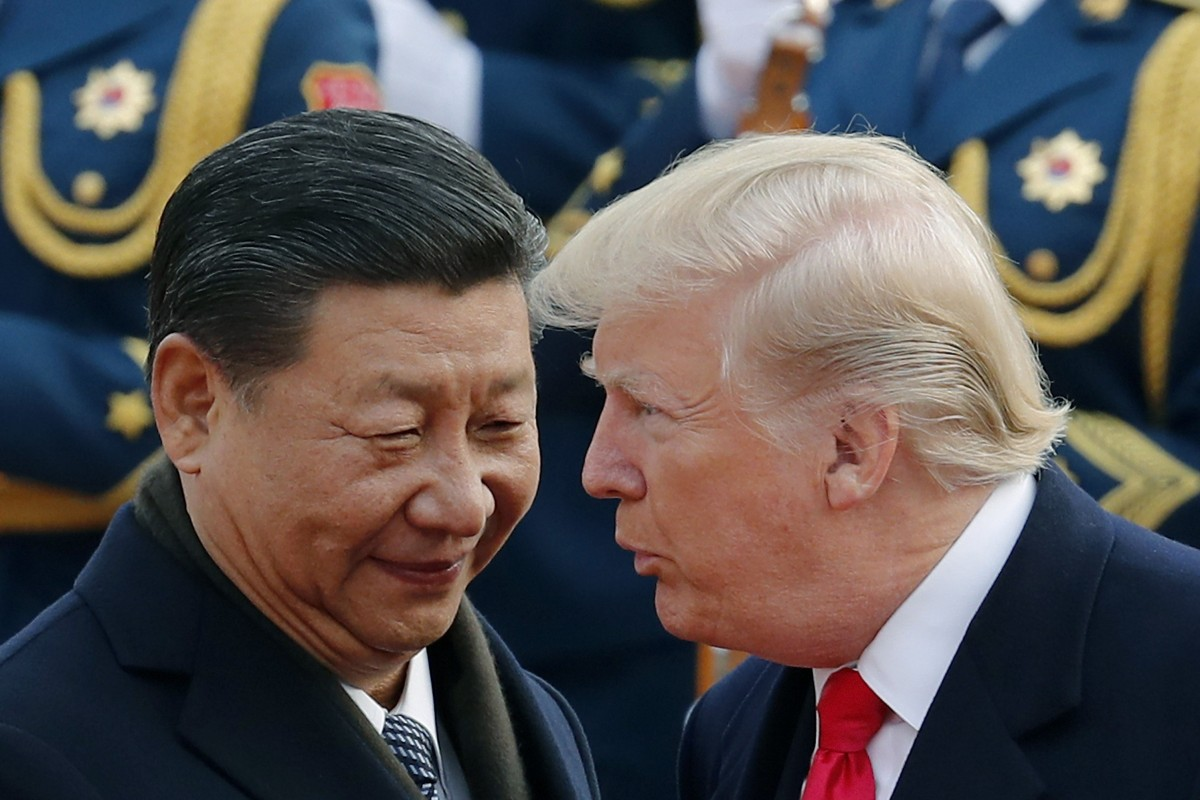 Chinese President, Xi Jinping and US President, Donald Trump