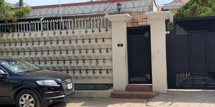 Bukola Saraki's seized house