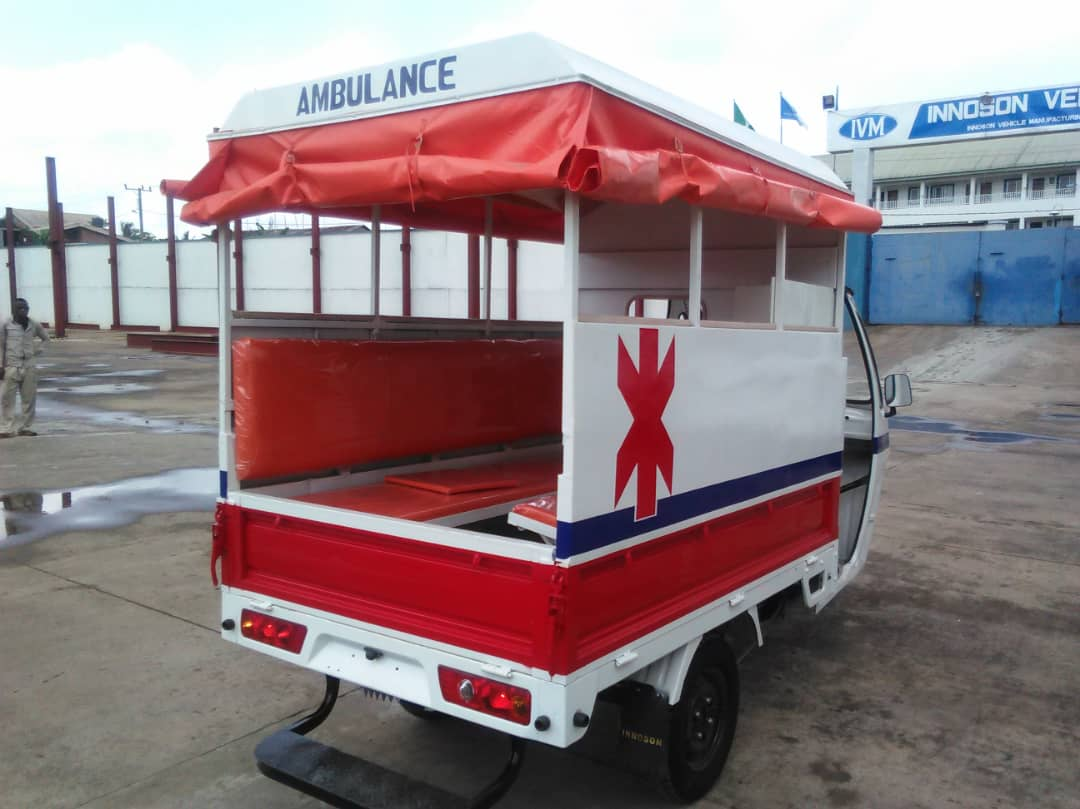 Tricycle ambulance by Innoson