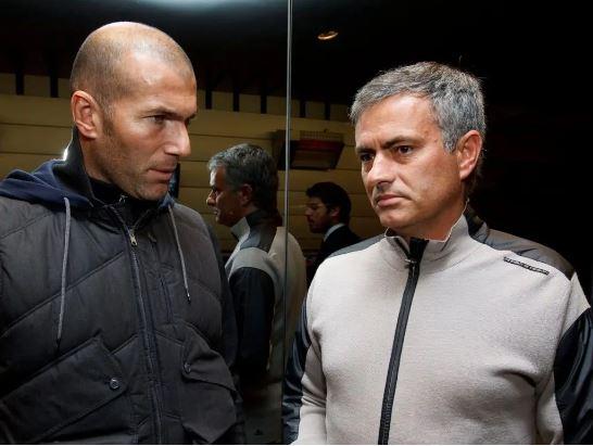 Zinedine Zidane, Jose Mourinho,