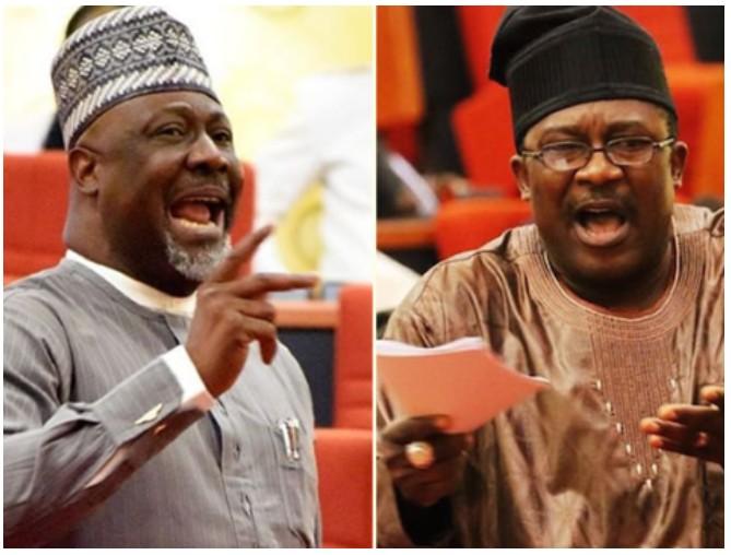 Dino Melaye and Adeyemi Smart