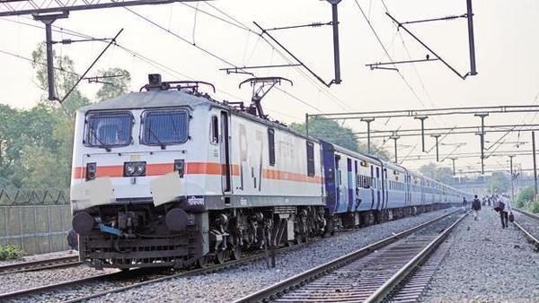 Railway vandal