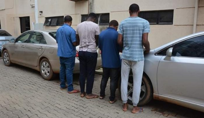 Internet fraudsters nabbed
