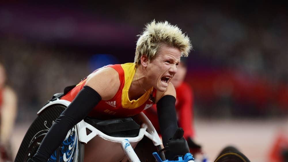Paralympian Marieke Vervoort