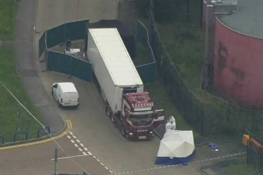 39 Found Dead Inside Truck In UK