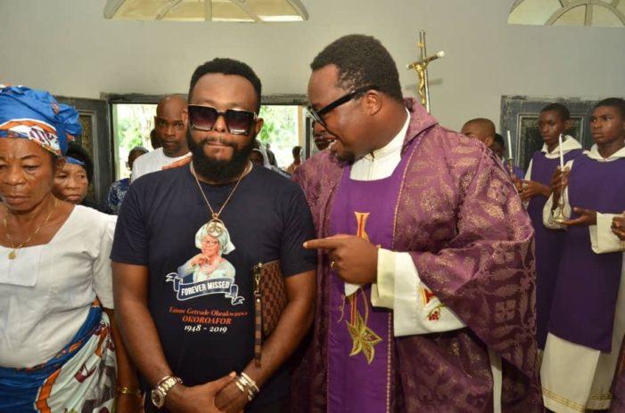 Damian Okoroafor buries mother