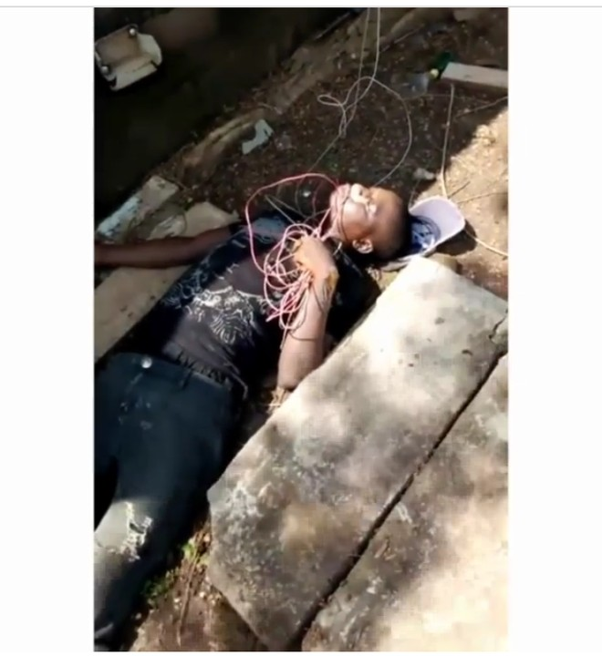 Thief electrocuted after stealing from a church