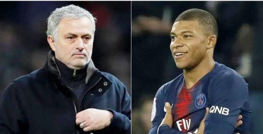 Jose Mourinho, Kylian Mbappe