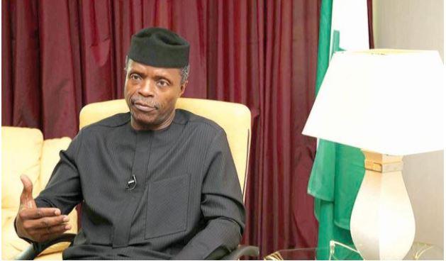 Vice- President Yemi Osinbajo