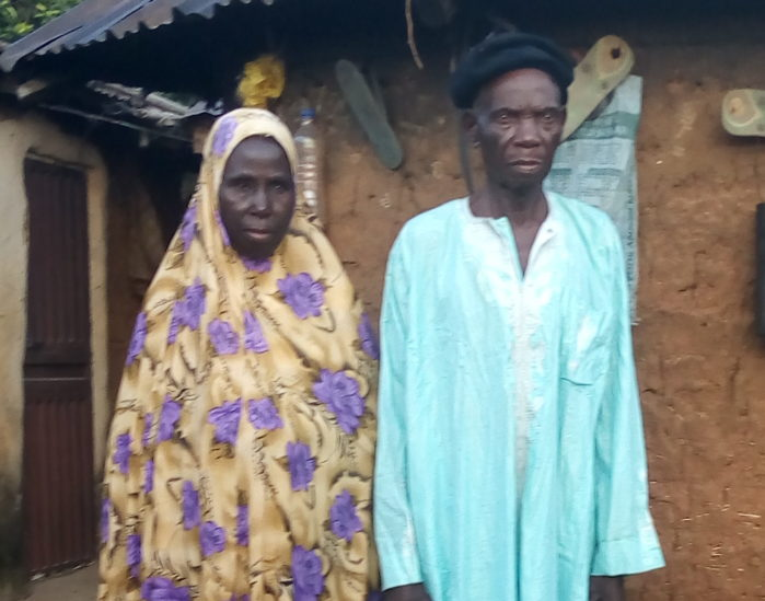 Old couple marry in Abuja